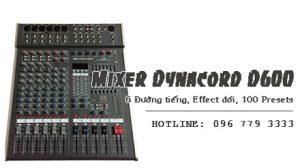 Bàn Mixer Dynacord D600