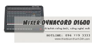 BànMixer Dynacord D1600