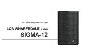 Loa Wharfedale Sigma 12_01