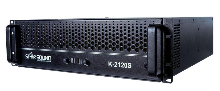 Cục đẩy 2 kênh Star Sound công suất 1200W ở 8Ω