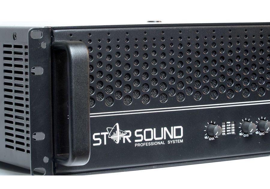Cục đẩy Star Sound - 4 kênh công suất lớn